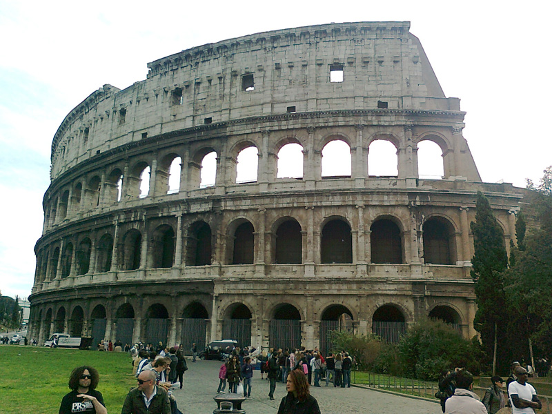 Włochy Koloseum